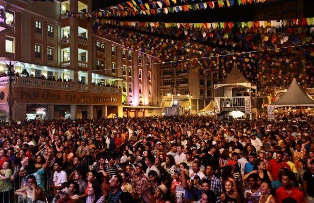 joão pessoa festa junina - FESTA DE SÃO JOÃO: Comerciantes iniciam hoje montagem de estruturas no Ponto Cem Réis