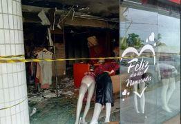 FOGO EM MANAÍRA: Incêndio destrói loja de roupas em João Pessoa