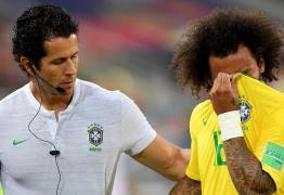 Marcelo se lesiona e deixa o jogo chorando no início do primeiro tempo