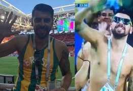 COLÍRIO: Brasileiro filmado durante jogo ganha 6 mil seguidores em minutos
