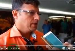 VEJA VÍDEO: Prefeito de Cabedelo declara apoio à Manoel Júnior e afirma estar em negociação com João Azevedo