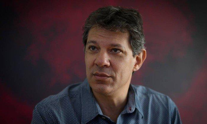 x63453634 PA Sao Paulo SP 22 12 2016 Prefeito Fernando Haddad em sua ultima entrevista como prefeito..jpg.pagespeed.ic .pyfU tY o6 - Plano B do PT é Fernando Haddad, afirma cientista politico da Paraíba