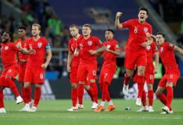 COPA NA RÚSSIA: Inglaterra elimina Colômbia nos pênaltis e vai enfrentar a Suécia nas quartas