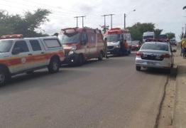 VEJA VÍDEO: Bandidos tentam assaltar mulher, mas são atropelados e ficam feridos em João Pessoa