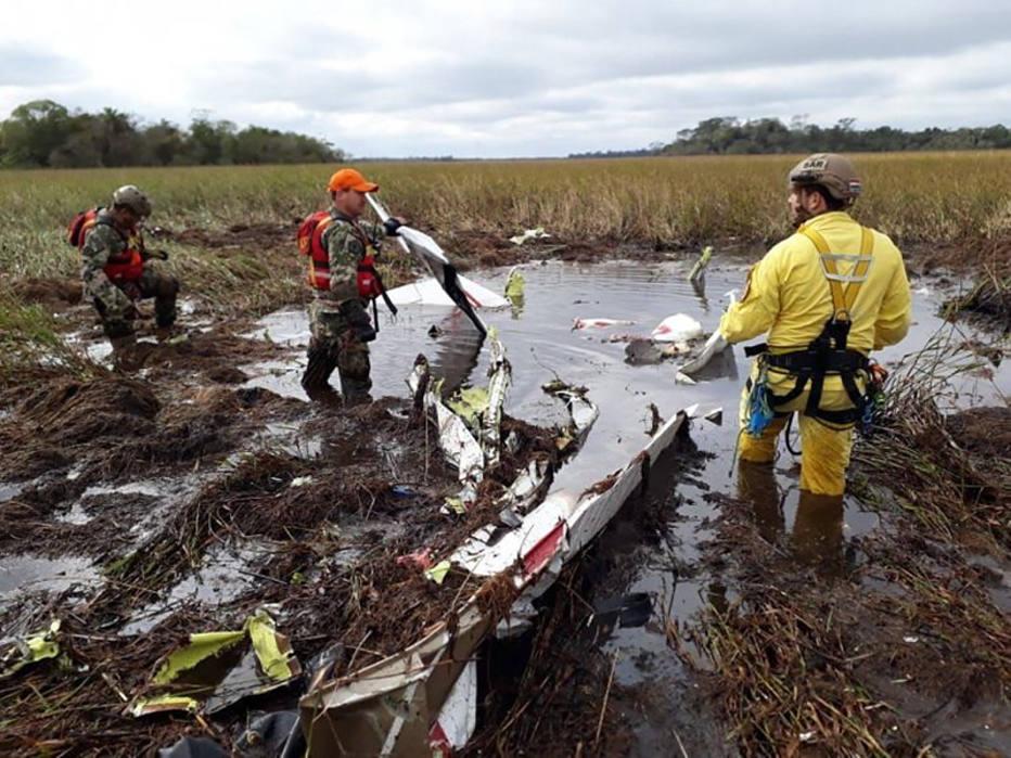1532624213159 - TRAGÉDIA: Queda de avião mata ministro e vice-ministro do Paraguai