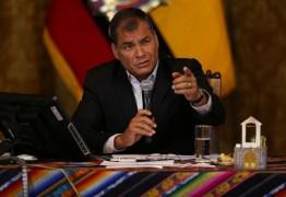 Justiça manda prender ex-presidente do Equador