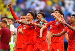 Inglaterra derrota a Suécia e volta às semifinais depois de 28 anos