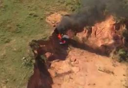 TRAGÉDIA: Queda de avião ultraleve deixa dois mortos