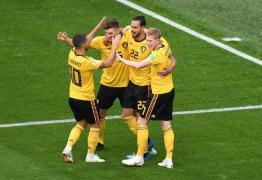 Bélgica vence a Inglaterra e fica em terceiro lugar na Copa do Mundo