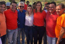 Ana Cláudia recebe apoio do deputado Genival Matias e do prefeito Bevilaqua em Juazeirinho