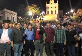 Deputado João Bosco Carneiro parabeniza prefeito de Pilões por festa do Caminhos do Frio