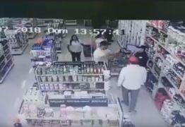 Bandidos rendem vigilante e assaltam farmácia em Campina Grande – VEJA VÍDEO