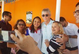 VEJA FOTOS: RC cumpre agenda em Santa Rita e entrega obras de reforma e manutenção de escolas