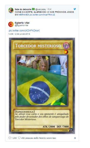 Capturar 8 - CONHEÇA YURY TORSKY: Torcedor misterioso que virou meme no Brasil é jovem russo
