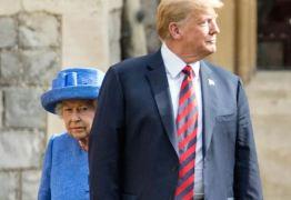 VEJA VÍDEO: Trump quebra protocolo com rainha Elizabeth II e é criticado por gafes