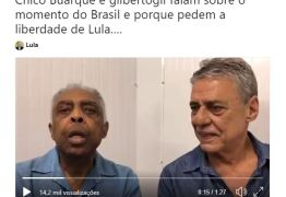 Chico Buarque e Gilberto Gil explicam porque querem Lula Livre: VEJA VÍDEO