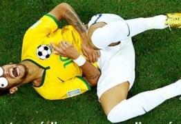 Por 'encenações', Neymar vira 'garoto-propaganda' contra gastrite e da Cruz Vermelha