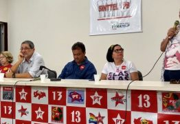 Sérgio Gabrielli participa de plenária em JP e fortalece a candidatura de Lula na Paraíba