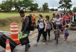 Imigrantes venezuelanos serão encaminhados à Campina Grande