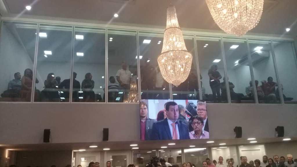 WhatsApp Image 2018 07 05 at 20.03.07 1024x576 - Presidente Gervásio Maia entrega novo plenário da ALPB: 'Sonho realizado' - VEJA VÍDEOS!