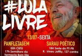 PT-PB realiza mobilizações em João Pessoa nesta sexta-feira