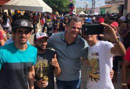 """Emerson Machado visita """"Terra do Supercross' e confere maior evento de motocross do NE"""