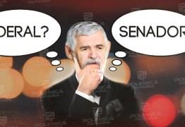 UM PADRE EM DÚVIDA: Couto diz que sabe que está bem nas pesquisas para o Senado, está candidato à federal, mas topa a senatória caso o partido decida