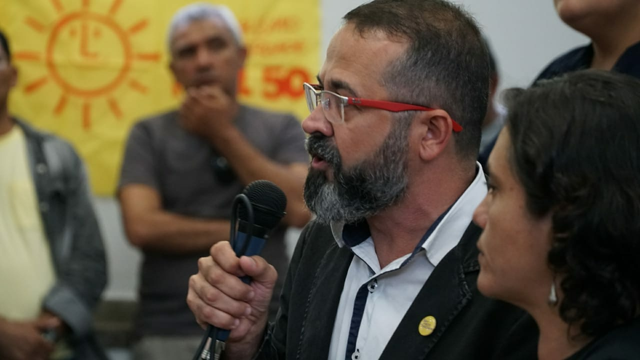 WhatsApp Image 2018 07 21 at 16.55.08 - PURO SANGUE NA DISPUTA: PSOL referenda candidatura de Tárcio Teixeira ao governo da Paraíba