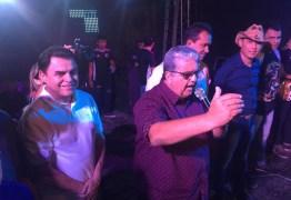 Prefeito de Vieirópolis anuncia apoio a pré-candidatura de Wilson Santiago