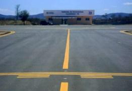 AGORA VAI? ANAC requalifica aeroporto de Cajazeiras para receber aeronaves de médio e até grande porte