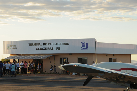 aeroporto cz - AGORA VAI? ANAC requalifica aeroporto de Cajazeiras para receber aeronaves de médio e até grande porte