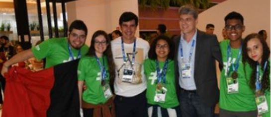 alunos senac - Aluno do SESI e SENAI da Paraíba vence Grand Prix de Inovação em Brasília