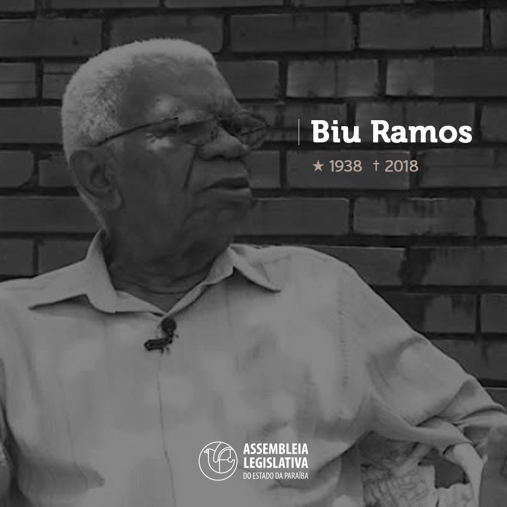 biu 2 - Corpo de Biu Ramos é velado na Assembleia Legislativa da Paraíba - VEJA VÍDEO