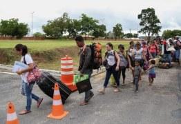 Paraíba abrigará 45 imigrantes da Venezuela nesta terça-feira
