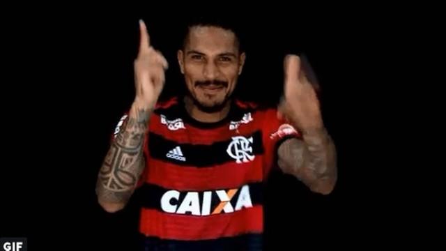 fla 1 - Flamengo confirma a liberação de Guerrero e peruano pode enfrentar o São Paulo