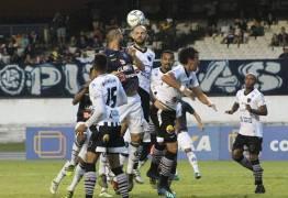 Botafogo-PB segura pressão do Remo, que fica mais próximo de rebaixamento