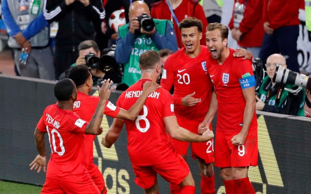 jogadores seleção inglesa copa do mundo rússia - Inglaterra vence a Suécia e garante vaga nas semi-finais da Copa do Mundo
