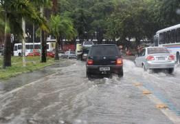 Chove cerca 40mm nas últimas 24 hora em João Pessoa