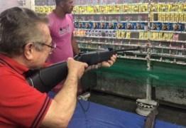 VEJA VÍDEO: Zé acerta o alvo no São Pedro de Belém e ganha apoio do ex-prefeito Edgar Gama