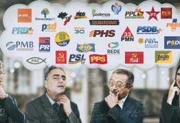 DISPUTA POR APOIOS: candidatos escondem lista de partidos e intensificam articulações por apoio nos bastidores
