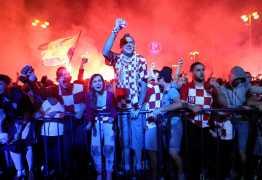 Em termos proporcionais, Croácia é o menor país a chegar a uma final