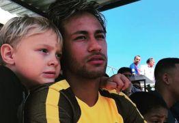 Neymar recebe mensagem emocionante do filho Davi Lucca antes do jogo