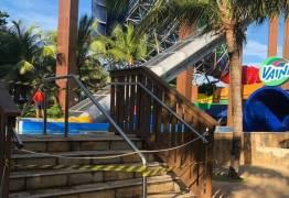 ACIDENTE NO BEACH PARK: 'Parece que Deus estava avisando para a gente não brincar', diz vítima