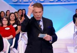 NOVA FASE: Silvio Santos proíbe divulgação de atrações de seu programa