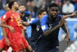 França vence a Bélgica por 1 a 0 e se torna primeira finalista da Copa