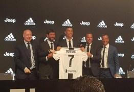 CR7 avisa na apresentação da Juventus: 'Sou ambicioso. Não vou ficar na zona de conforto'