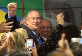 PT está em uma viagem lisérgica, diz Ciro Gomes durante convenção