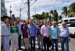FOTOS – Confirmando apoio, Daniella e Aguinaldo Ribeiro chegam a evento do PP ao lado de Lucélio Cartaxo