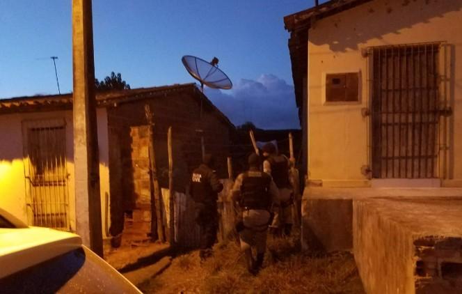 Capturar 34 - Operação Guerra fria: Policia Civil cumpre mandados de prisão contra homicídios e tráfico de drogas no Agreste paraibano