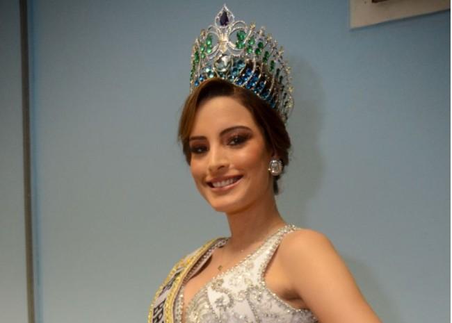 Capturar 45 - Nordestina que venceu Miss Brasil Mundo 2018 diz que já passou fome e teve preparação forte